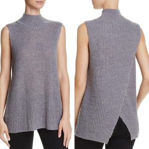 French Connection  Crossback Mock Neck Sweater XS